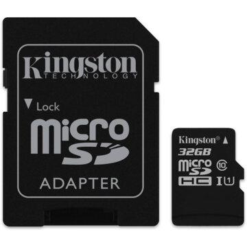 Купить Карта памяти microSD 32GB Kingston SDC10G2/32GB