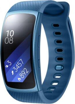 Купити Смарт-годинник Samsung Gear Fit2 R360 L Blue