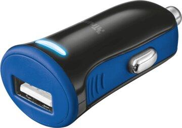 Купить Зарядное устройство Trust 5W Car Charger Blue