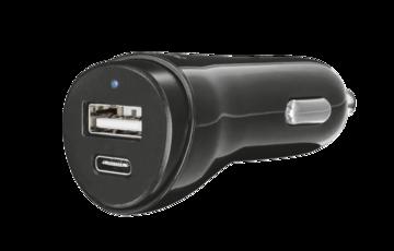 Купить Зарядное устройство Trust Urban USB A and TYPE-C Charger 17W