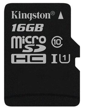 Купити Карта пам'яті Kingston microSDHC 16Gb Canvas Select U1