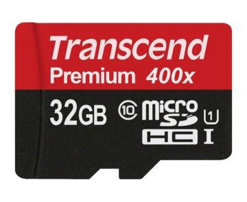 Купити Карта пам'ятi TRANSCEND microSDHC 32GB Class 10 UHS-I Premium no ad
