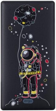 Купити Мобільна батарея ERGO LP-83 10000 mAh Black
