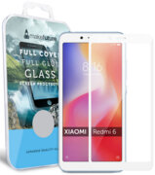 Купить Защитное стекло MakeFuture Full Cover Glue для Xiaomi Redmi 6 White