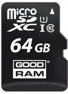 Купить Карта памяти GOODRAM microSDXC 64GB Class 10 UHS I + adapter